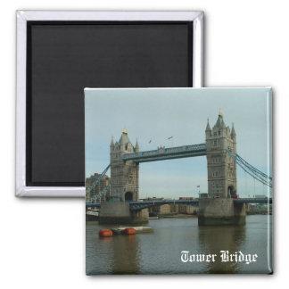 Tower Bridge Square Magnet