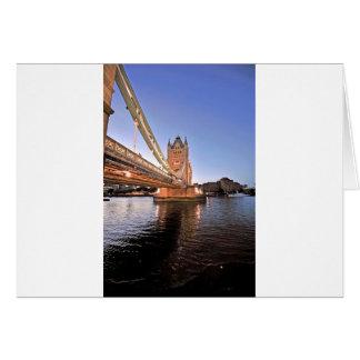 Tower Bridge @ Night Card