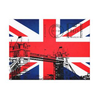 Tower Bridge of London Canvas Prints