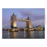 Tower Bridge of London Notecard Greeting Card