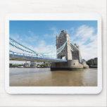 Tower Bridge on River Thames London UK Mousepads