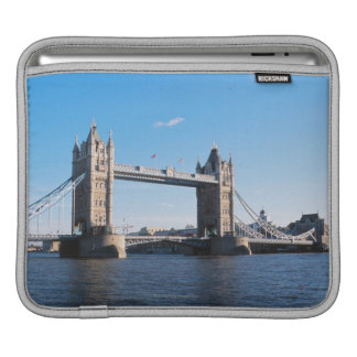 Tower Bridge on the Thames River iPad Sleeve