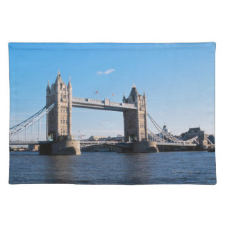 Tower Bridge on the Thames River Placemat