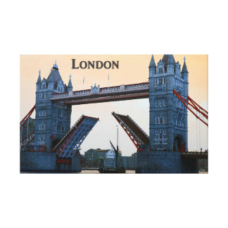 Tower Bridge Open - Canvas* Canvas Print