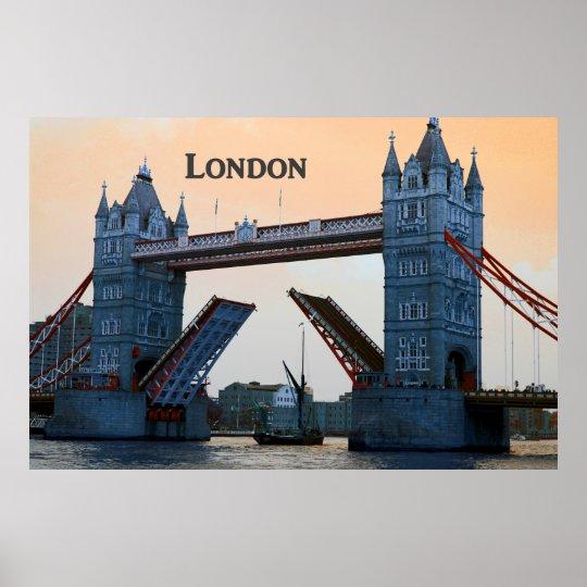Tower Bridge Open - Poster* Poster