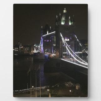 Tower Bridge Plaque