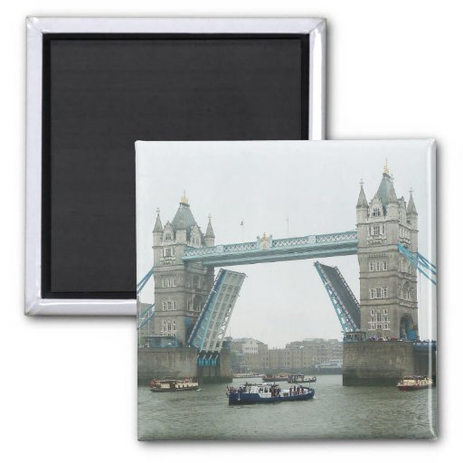 Tower Bridge, rasied Fridge Magnet