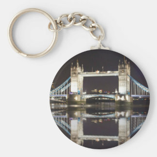 Tower Bridge Reflected Key Ring