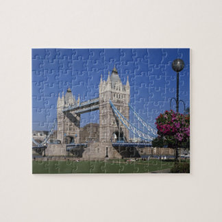 Tower Bridge, River Thames, London, England Jigsaw Puzzle