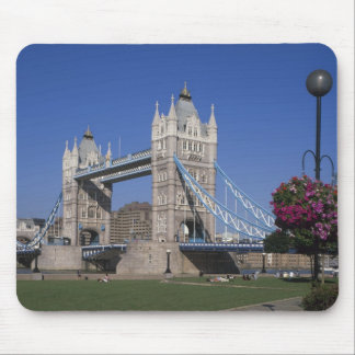 Tower Bridge, River Thames, London, England Mouse Pad