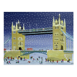Tower Bridge: Skating on Thin Ice Postcard