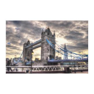 Tower Bridge & The Shard, London, England Canvas Prints