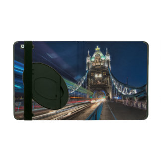Tower Bridge traffic iPad Folio Case