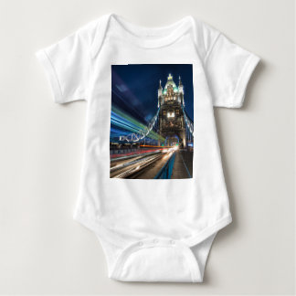 Tower Bridge traffic, London Baby Bodysuit