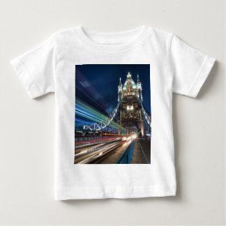 Tower Bridge traffic, London Baby T-Shirt