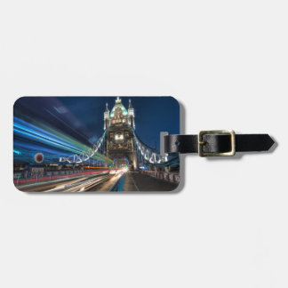 Tower Bridge traffic, London Luggage Tag