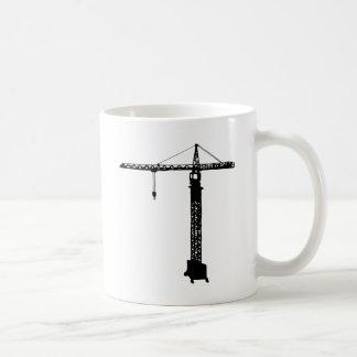tower crane grue coffee mug