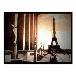 Tower Eiffel Postcard