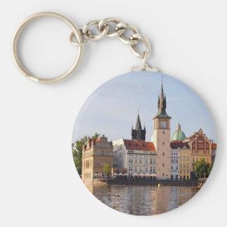 Tower in Prague Key Ring