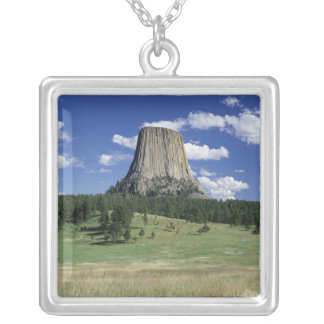 Tower is 1,267 feet. silver plated necklace