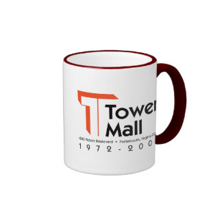 Tower Mall 1972-2001 Coffee Mugs
