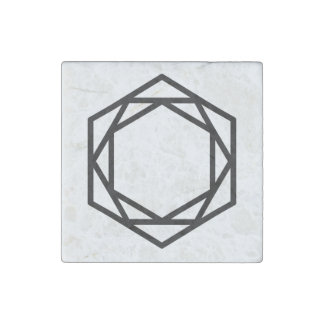 Tower (+) / Marble Stone Magnets, Individual Stone Magnet