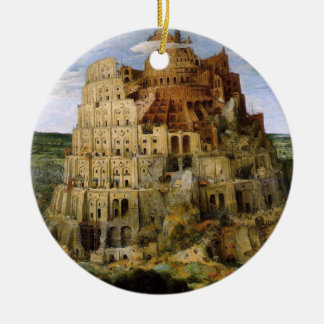 Tower of Babel - 1563 Christmas Ornament