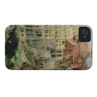 Tower of Babel, 1563 (oil on panel) iPhone 4 Case-Mate Case