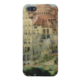 Tower of Babel, 1563 (oil on panel) iPhone 5/5S Case