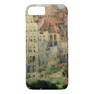 Tower of Babel, 1563 (oil on panel) iPhone 7 Case