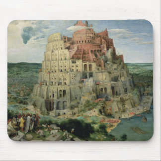 Tower of Babel, 1563 (oil on panel) Mouse Mat