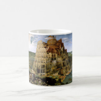 Tower of Babel by Brueghel Basic White Mug