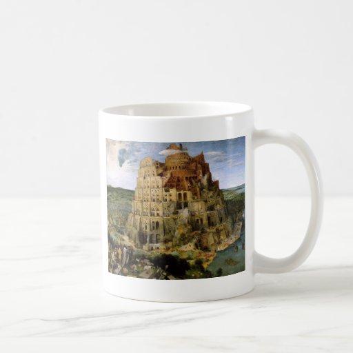Tower of Babel by Brueghel Coffee Mugs