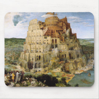 Tower of Babel - Peter Bruegel Mouse Mat