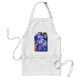 Tower of Blue Horses by Franz Marc Standard Apron