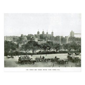 Tower of London 1900 Postcard