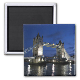 Tower of London Bridge Square Magnet