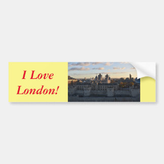 Tower of London Bumper Sticker