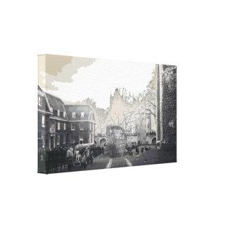 Tower of London By Alexandra Cook aka Linandara Canvas Prints
