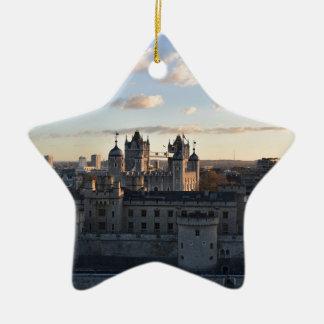 Tower of London Ceramic Star Decoration