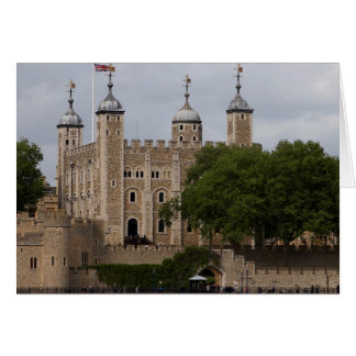 Tower Of London England Seen From Across The River Card