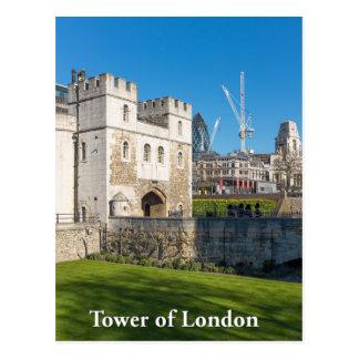 Tower of London, England UK Postcard