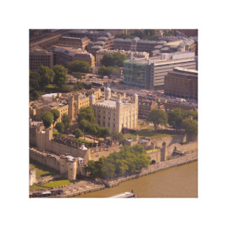 Tower of London from Above Canvas Print