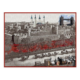 Tower of London in the Fourth Dimension Postcard
