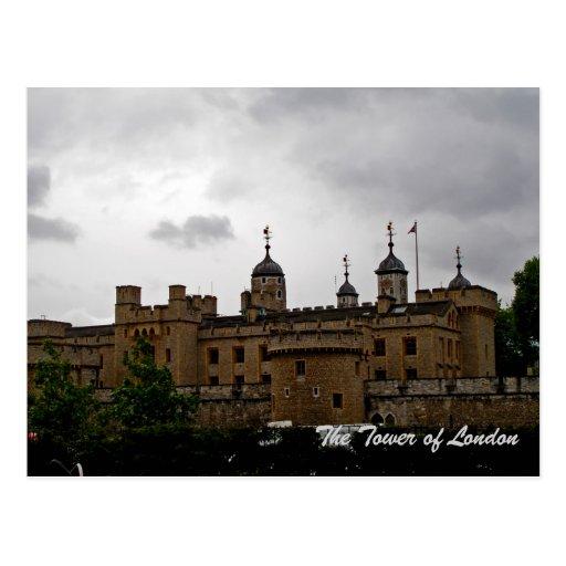 Tower of London postcard