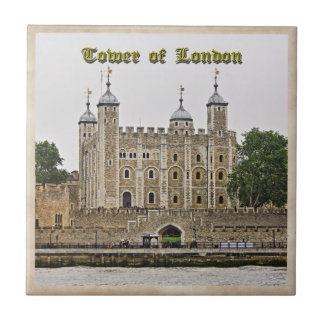 Tower of London Small Square Tile