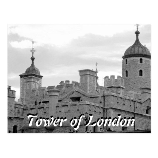 Tower of London vintage postcard