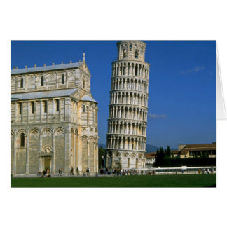 Tower of Pisa, Italy Card
