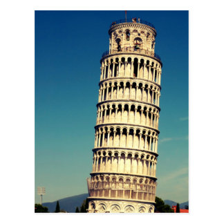 Tower of Pisa Postcard