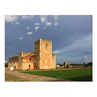 Tower Ozama Santo Domingo Dominican Republic 2 Postcard